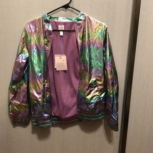 NWT 🌸holographic jacket